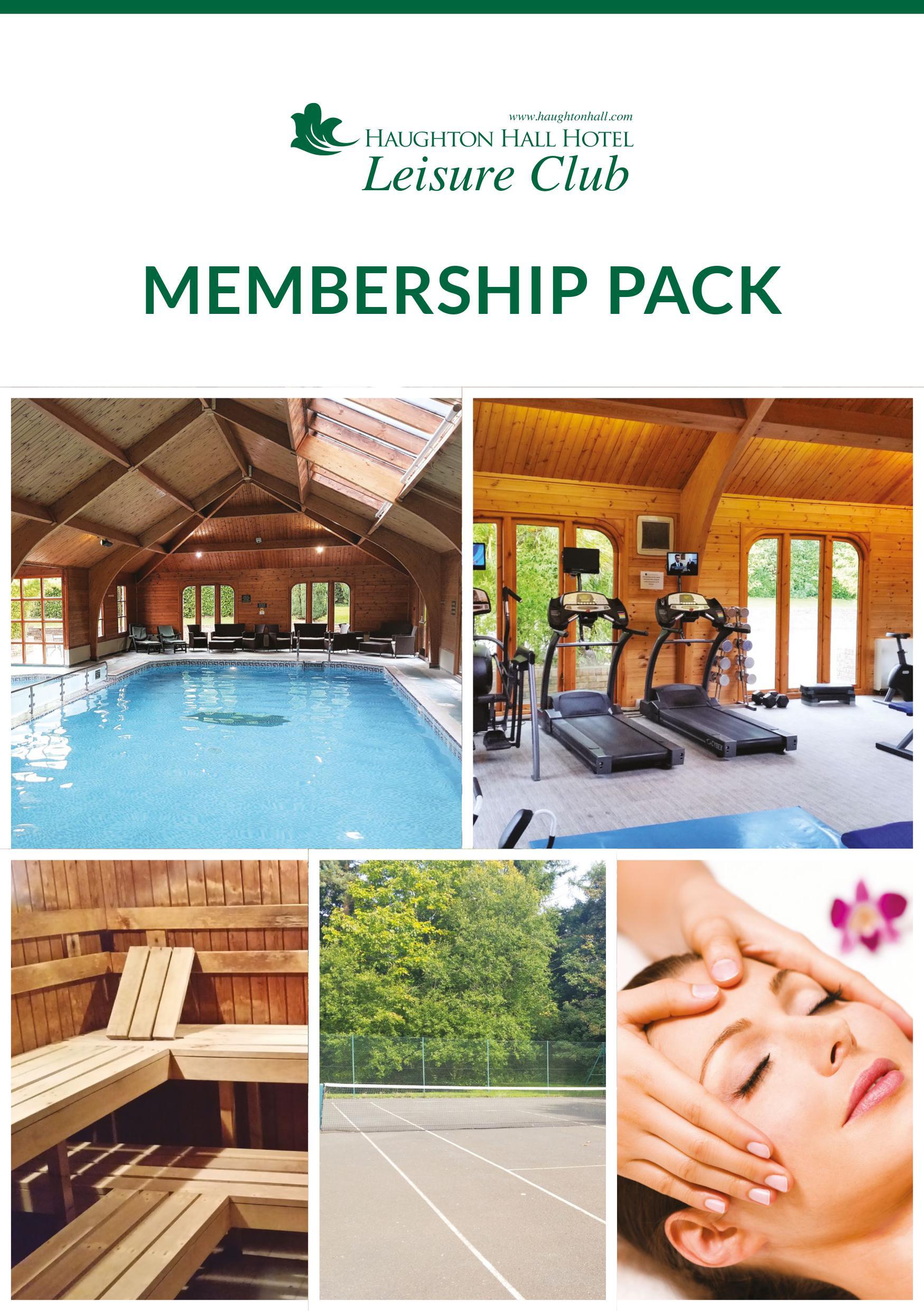 Leisure Membership Pack