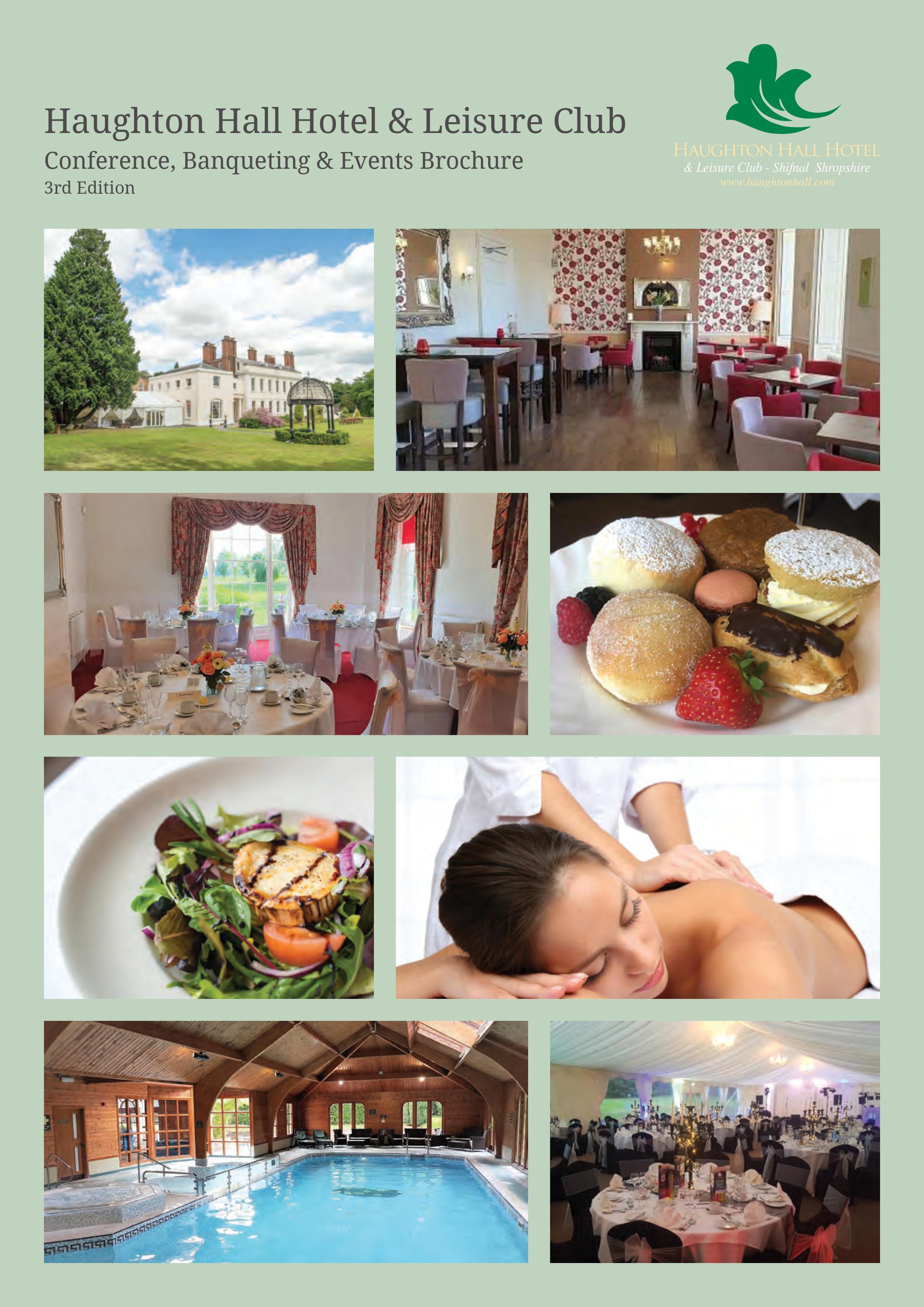 Banqueting & Events Brochure
